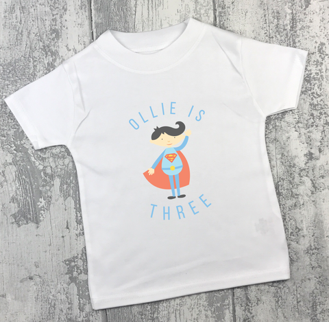 Personalised Birthday - Superman - L&O Designs
