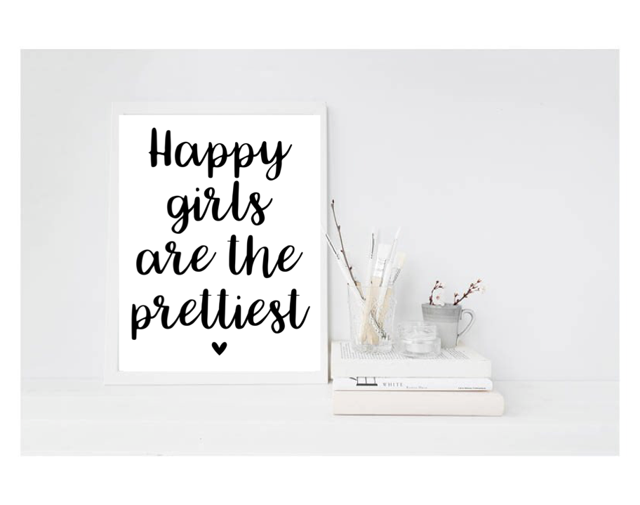 Happy Girls Are The Prettiest - L&O Designs