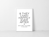 & They Lived Happily Ever After - L&O Designs