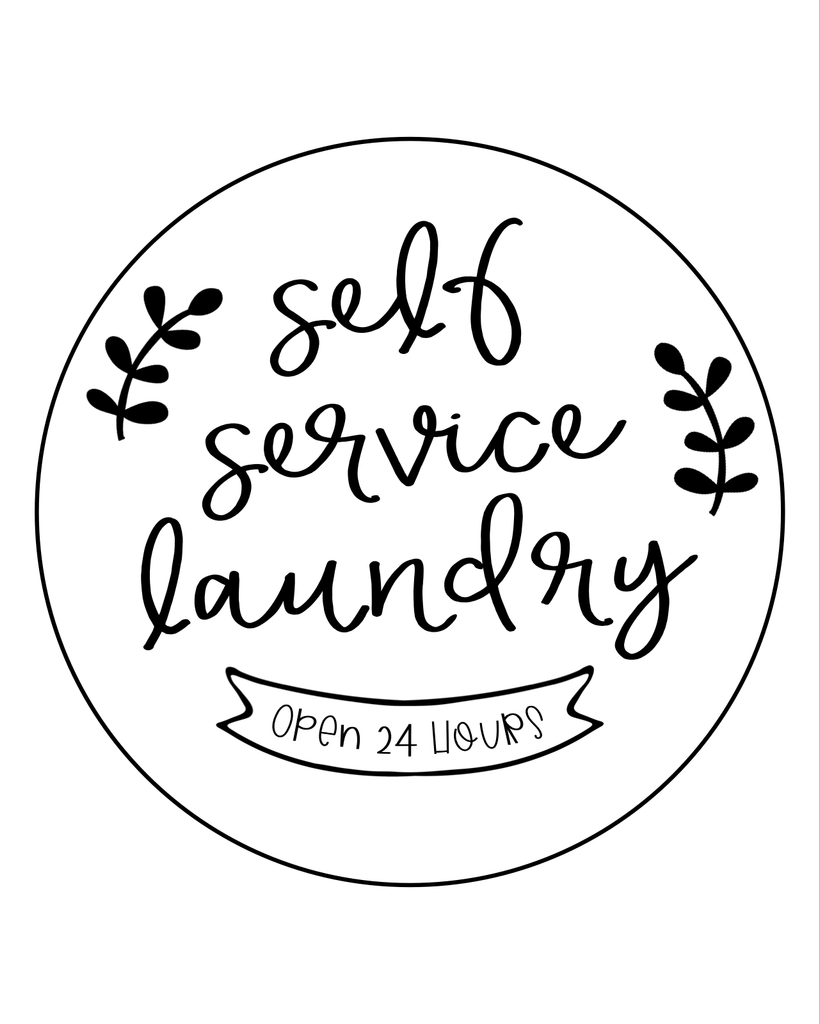 Self Service Laundry - L&O Designs