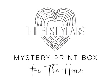 Mystery Print Box - Prints For The Home