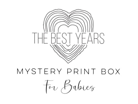 Mystery Print Box - Prints For Babies