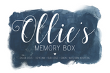Memory Box - Navy Blue - L&O Designs