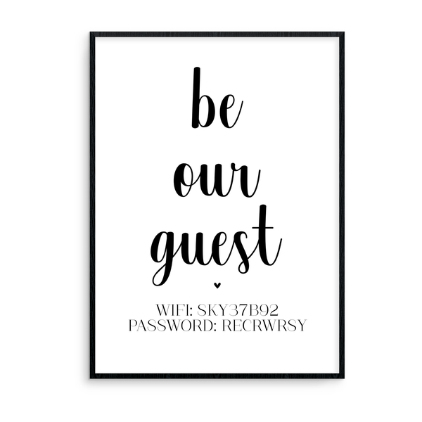 Be Our Guest - L&O Designs