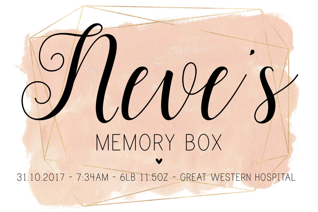 Memory Box - Blush Pink - L&O Designs