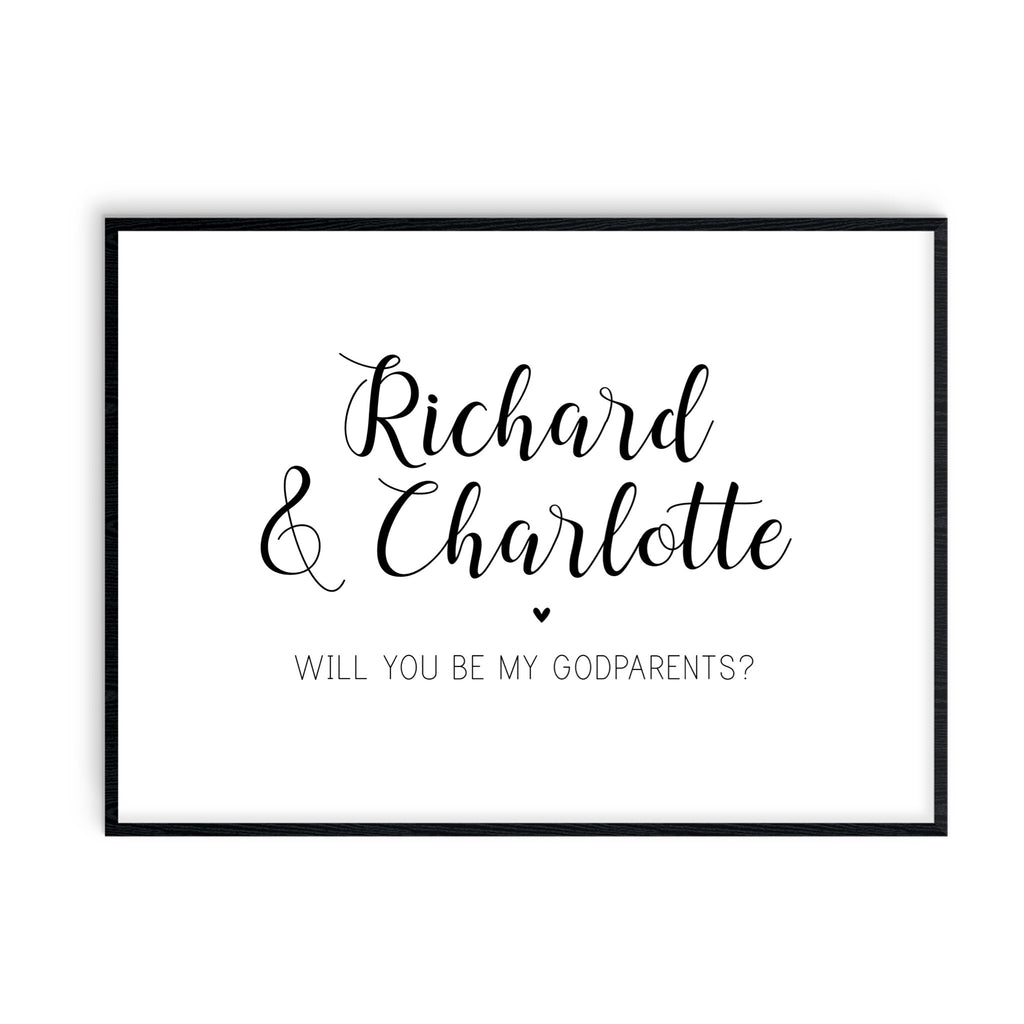 Will You Be My Godparent(s)? - L&O Designs