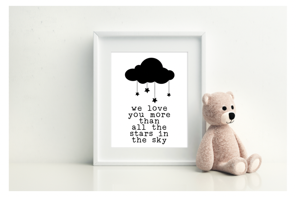 We Love You More Than All The Stars In The Sky - L&O Designs