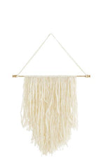 Bohemian wool wall hanging