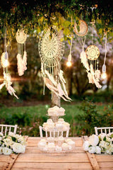 Bohemian style wedding Ireland dreamcatchers Pinterest