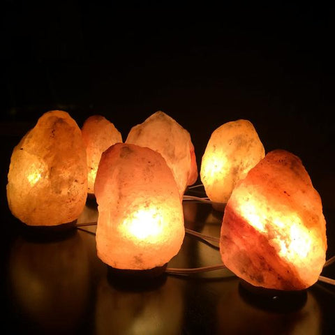 Salt lamps electric THE TEMPLE WOLF wedding decor