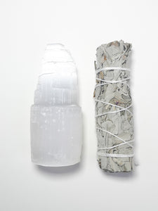 SELENITE RITUAL SET