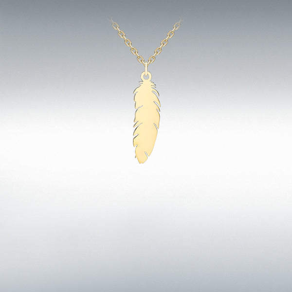 AS LIGHT AS A FEATHER (9ct GOLD)
