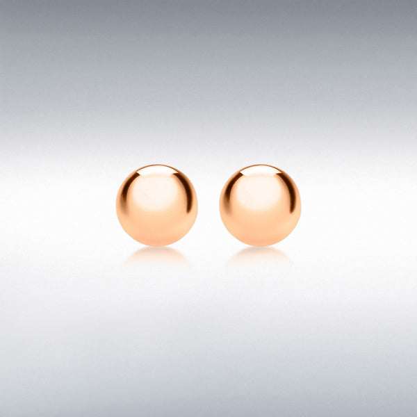 BALL STUD EARRINGS (STERLING SILVER)