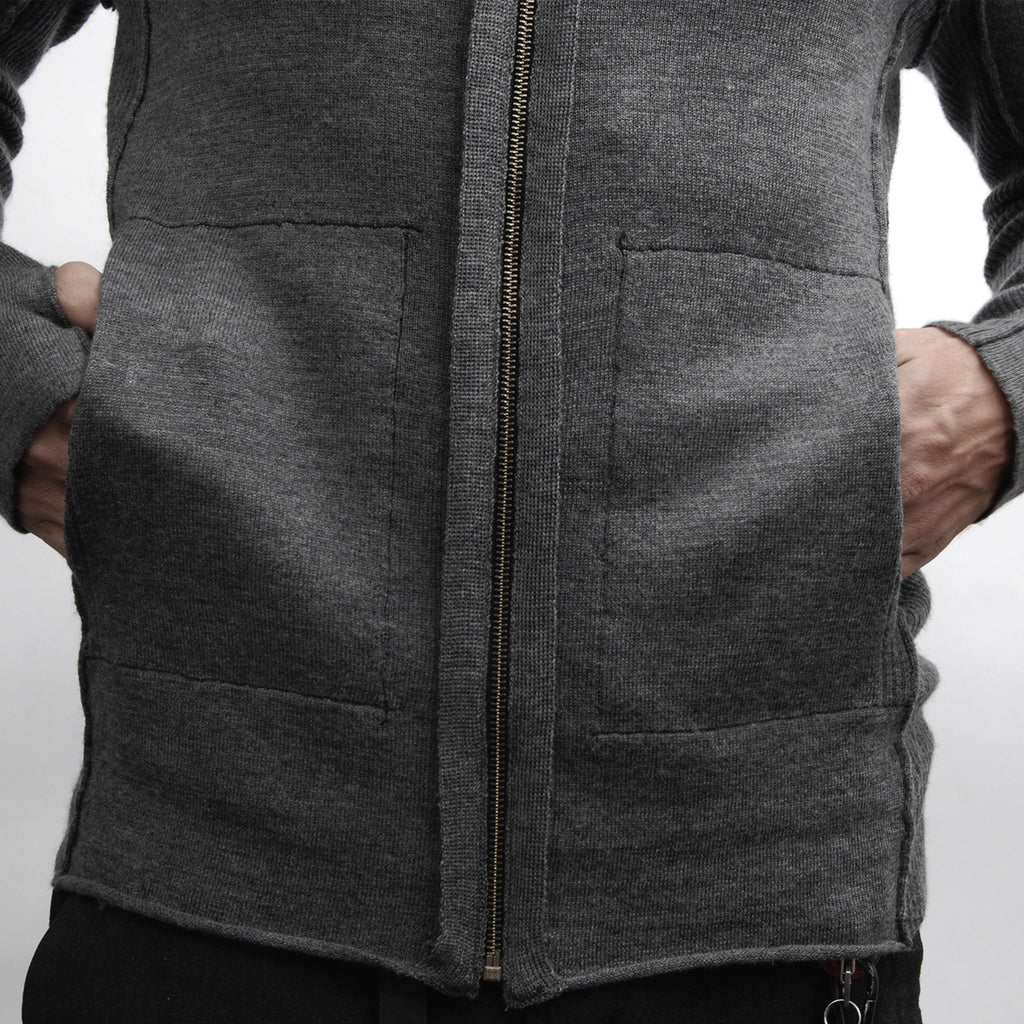 LIGHT LAYERING SWEATER GREY