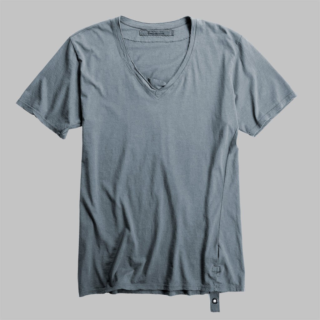 RAW V-NECK BLUE