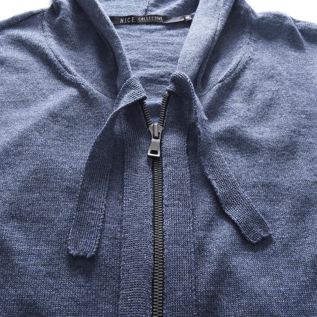 LIGHT LAYERING SWEATER BLUE