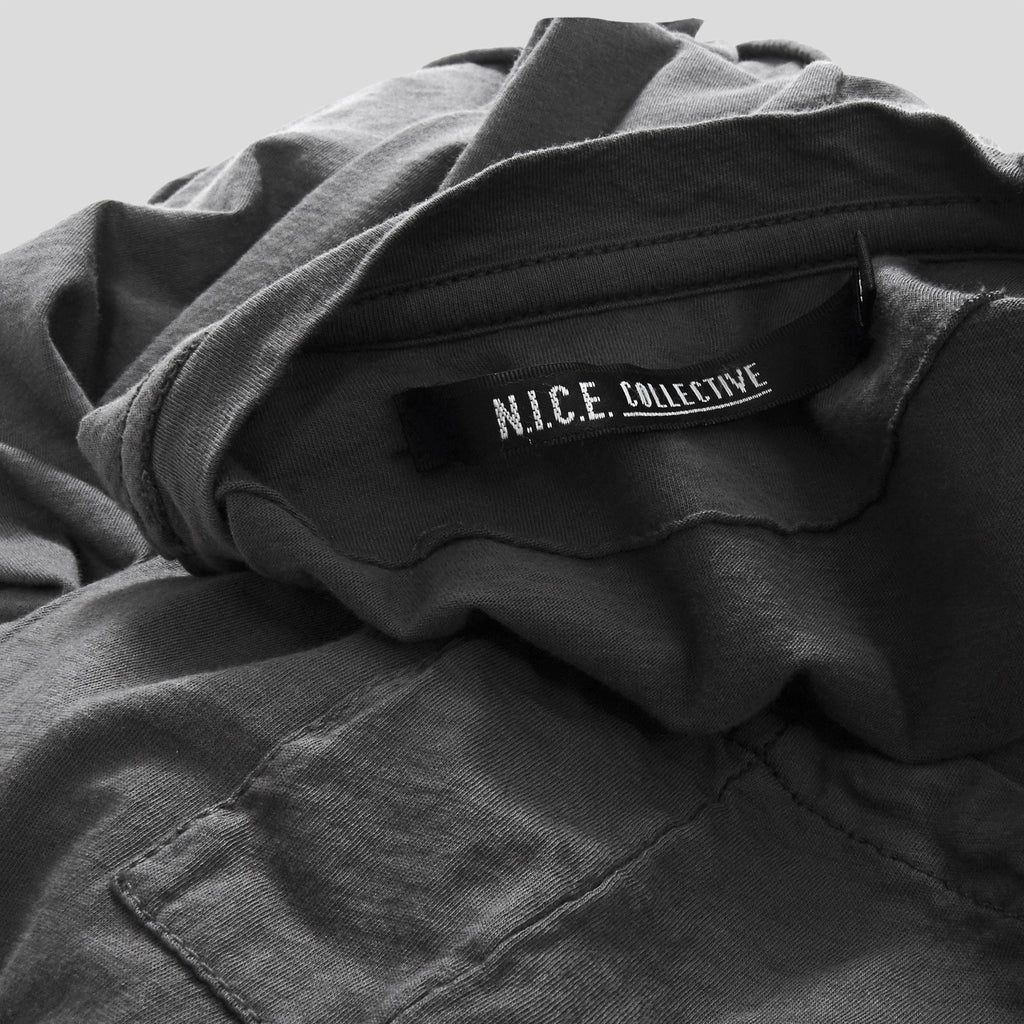 NICO POCKET CREW SS GREY