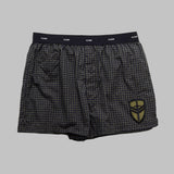BOXER SHORT BLACK GRID