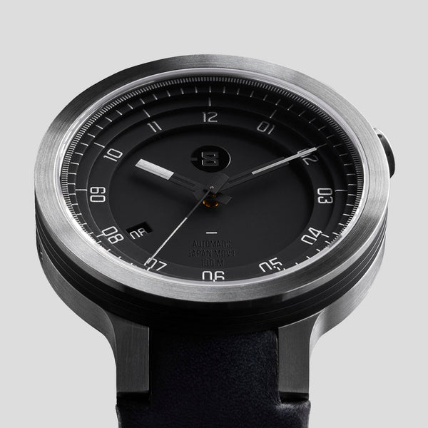 LAYER LEATHER AUTOMATIC WATCH