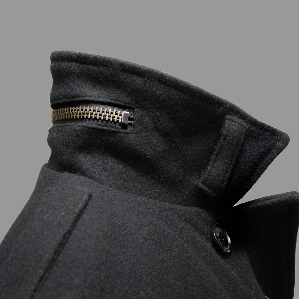 WOOL SEA COAT BLACK
