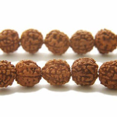 108 Rudraksha Bead Tibetan Buddhist Prayer Meditation Mala - BCandle