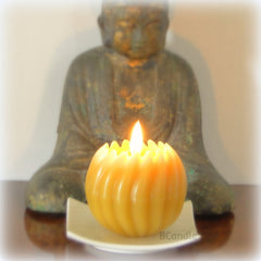 Spiral Ball Candle - Beeswax Candles