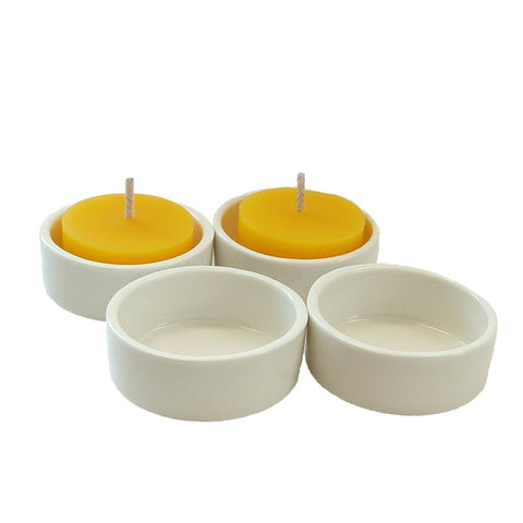 Porcelain Tealight Candle Holder - BCandle