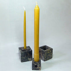 Soapstone Candle Holder - Multi Size, Hand Crafted, Natural Stone - BCandle