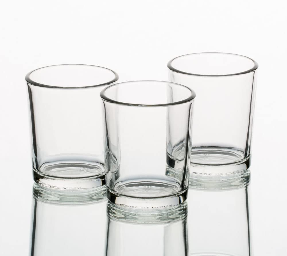Votive Clear Glass Candle Holders - BCandle