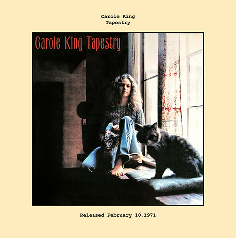 Carole King   tapestry album cover  1975