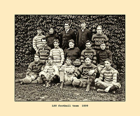 LSU football team  1899