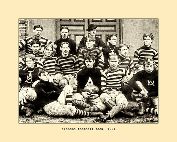 alabama football team  1901