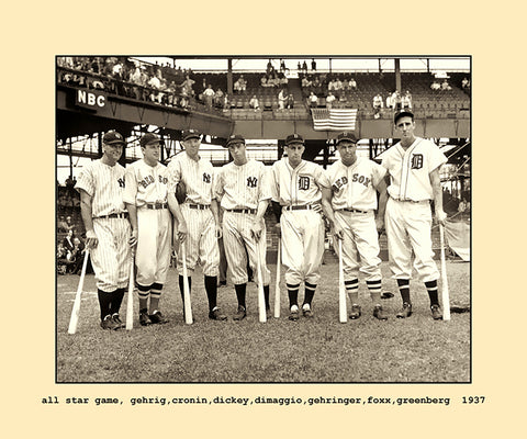 all star game  1937
