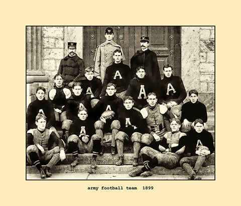 army football team  1899