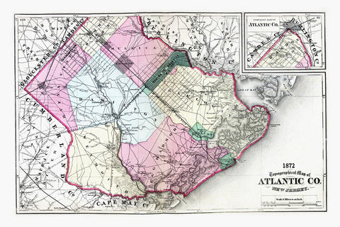 Atlantic County  1872