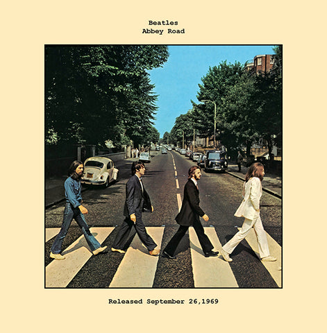 Beatles   abbey road album cover  1969