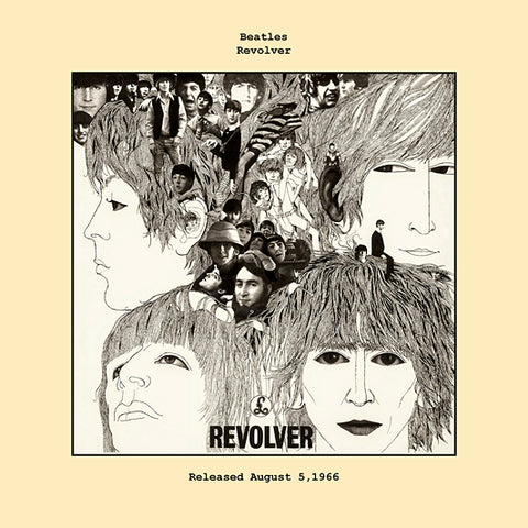 Beatles   revolver album cover  1966
