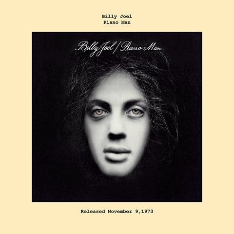 Billy Joel piano man album cover  1973