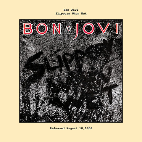 Bon Jovi   slippery when wet album cover  1986