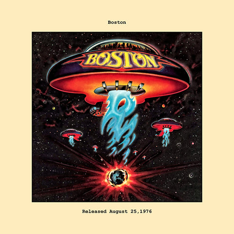 Boston album cover  1976