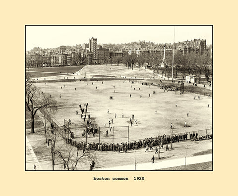 boston common  1920