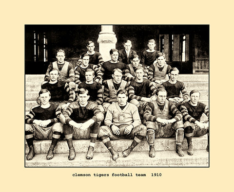 clemson tigers football team  1910