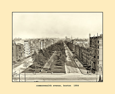commonwealth avenue, boston  1904