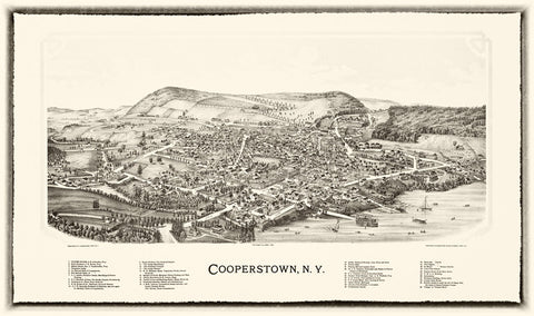 Cooperstown  1890