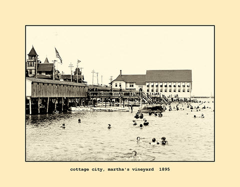 cottage city, martha's vineyard  1895