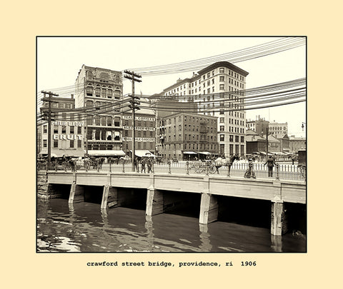 crawford street bridge, providence, ri  1906