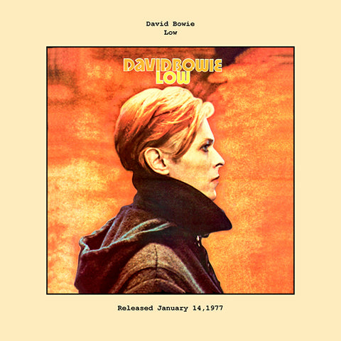 David Bowie   low album cover  1977