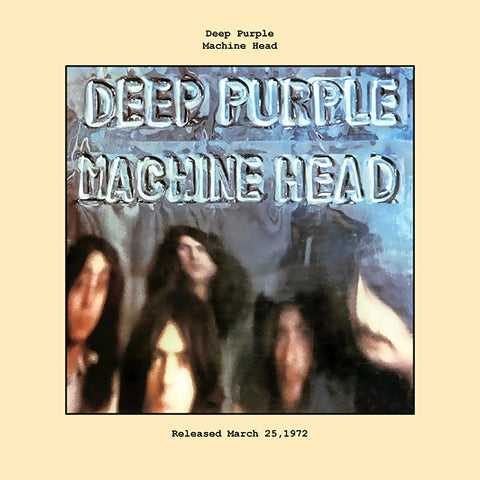 Deep Purple machine head album cover  1972