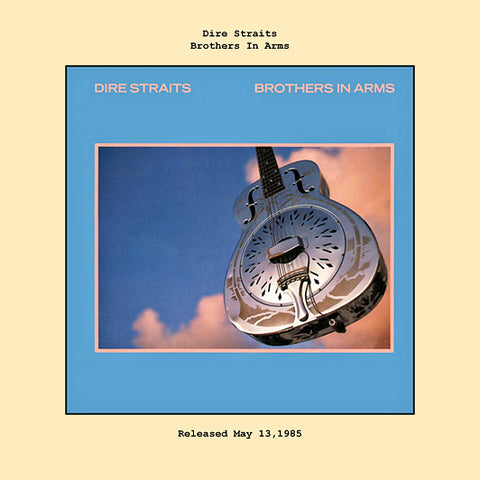 Dire Straits brothers in arms album cover  1985