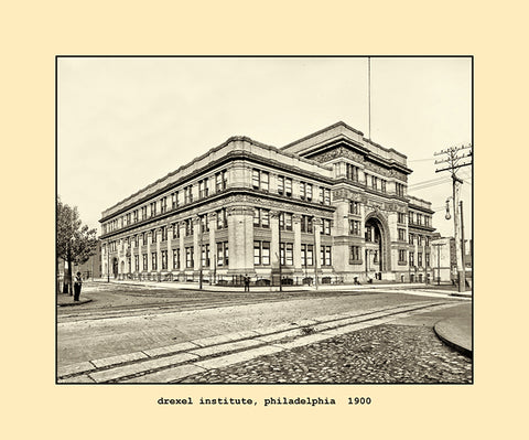 drexel institute, philadelphia  1900